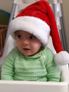 Baby's Kerstfoto's