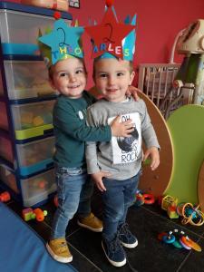 Charles en Theo 2 jaar