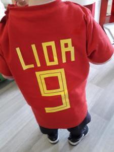 De 1-2 jarigen supporteren mee voor de belgen (deel 1)