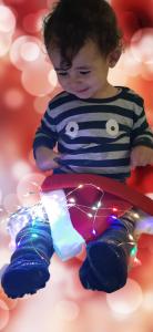 Foto's 1-2 jarigen Nieuwjaarsbrief