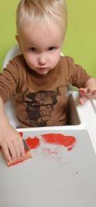 Sint knutselen 1-2 jarigen